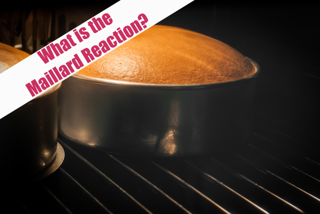 Bake a cake and learn about the Maillard Reaction #MaillardReaction #ScienceQuestions #KitchenScience #scienceforkids