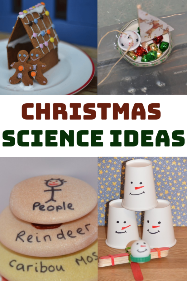 Christmas Science Ideas for kids #ChristmasScience #scienceforkids #Christmasactivities