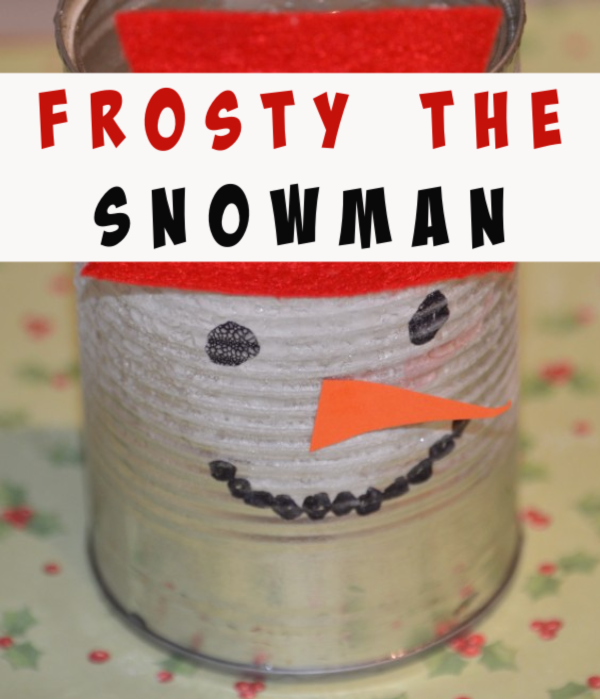 How to make a frosty the snowman. Make frost appear on the outside of a can using the power of salt and water #winterscienceexperiments #christmasscience #scienceforkids