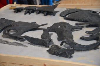 Dinosaur dig - T-Rex bones