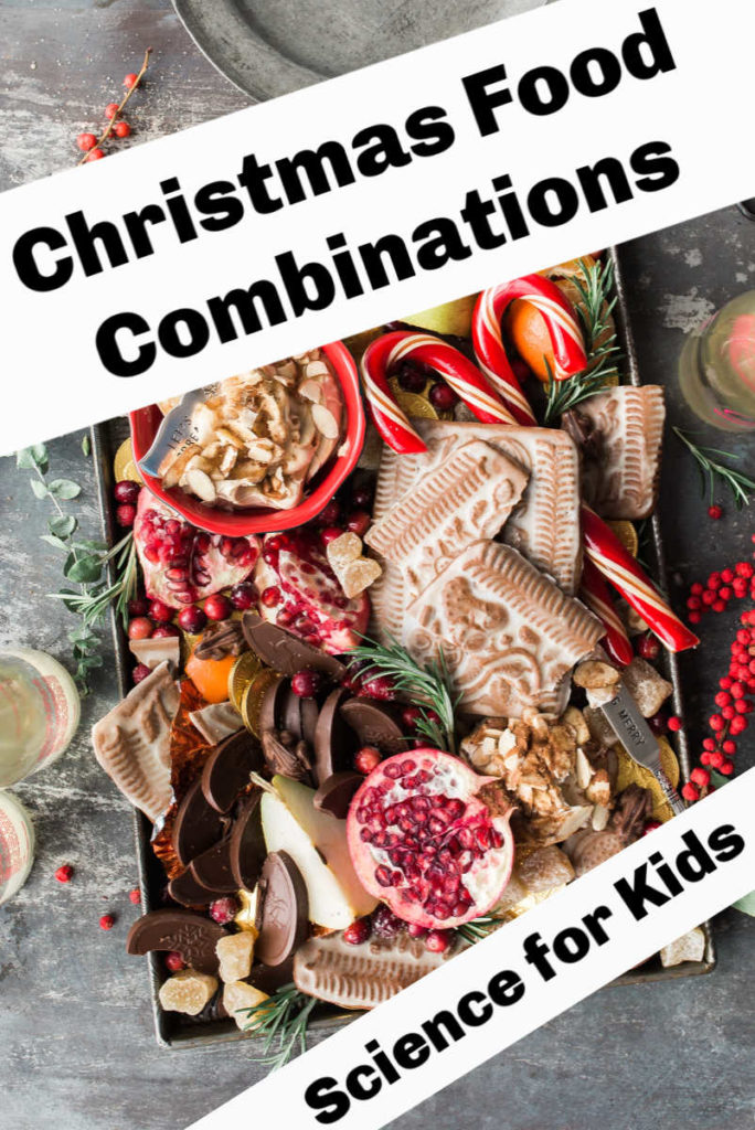 Christmas Food Combinations - fun Christmas food science for kids #ChristmasScience #ChristmasFood
