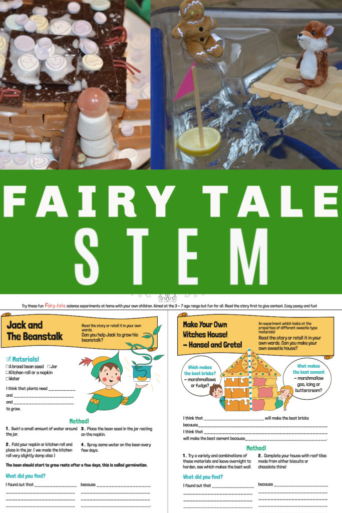 Fairy tale science experiments - easy science you can do at home