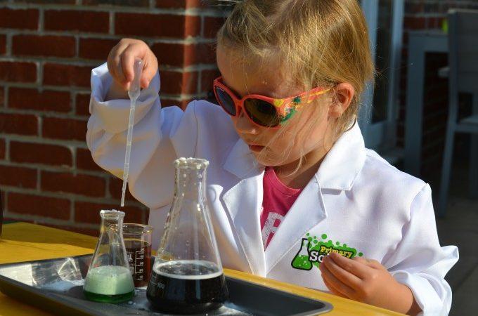 child making potions