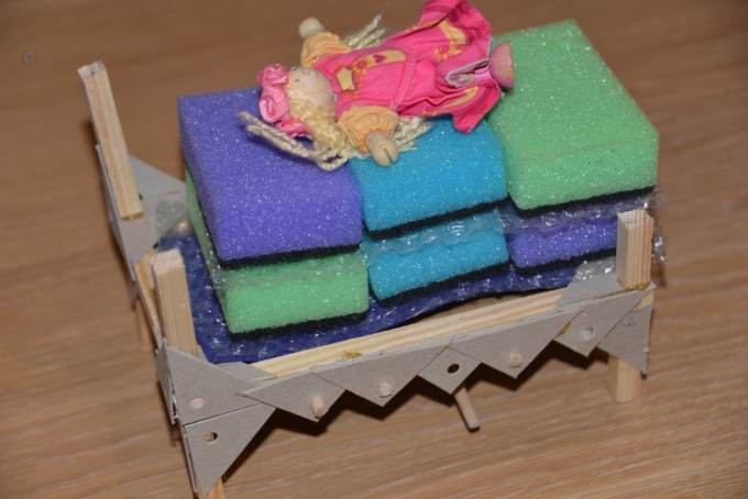 Princess and the pea STEM Challenge