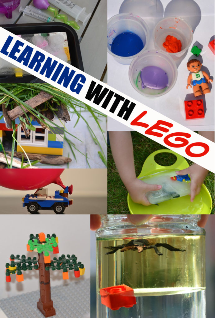 40 brilliant ideas for learning with LEGO. Make a LEGO powered car, lego car charts and lots more awesome LEGO Science and LEGO learning activities  #LEGOScience #SciencewithLEGO #Scienceforkids #LEGOActivities #LEGOIdeas #legolearning