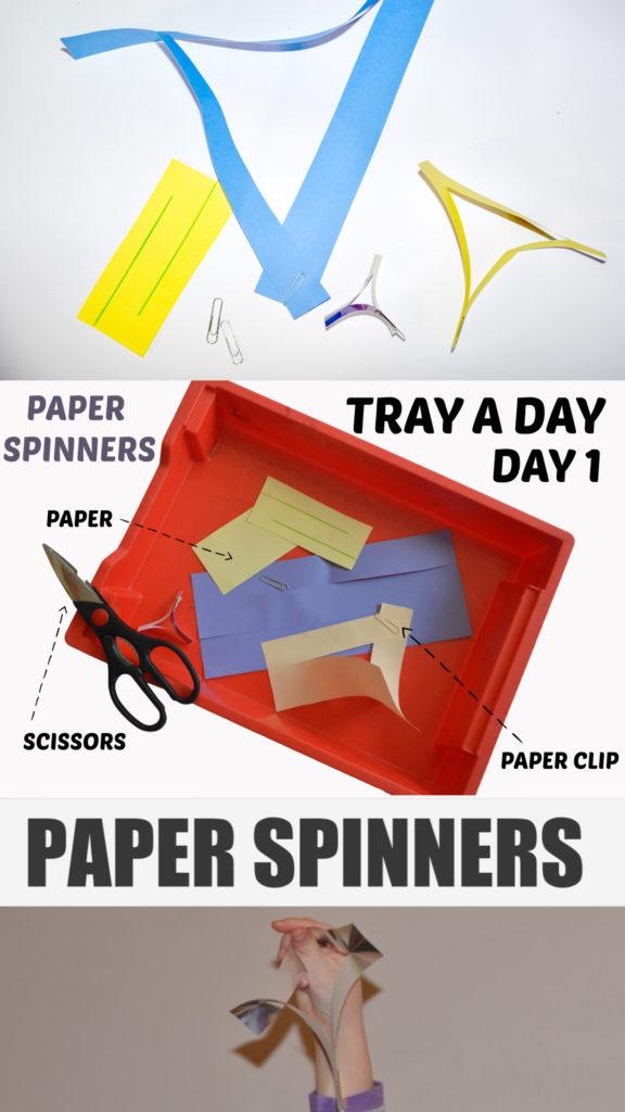 Easy paper spinner ( paper helicopter ) STEM Challenge #scienceforkids #STEMChallenge #STEMforkids