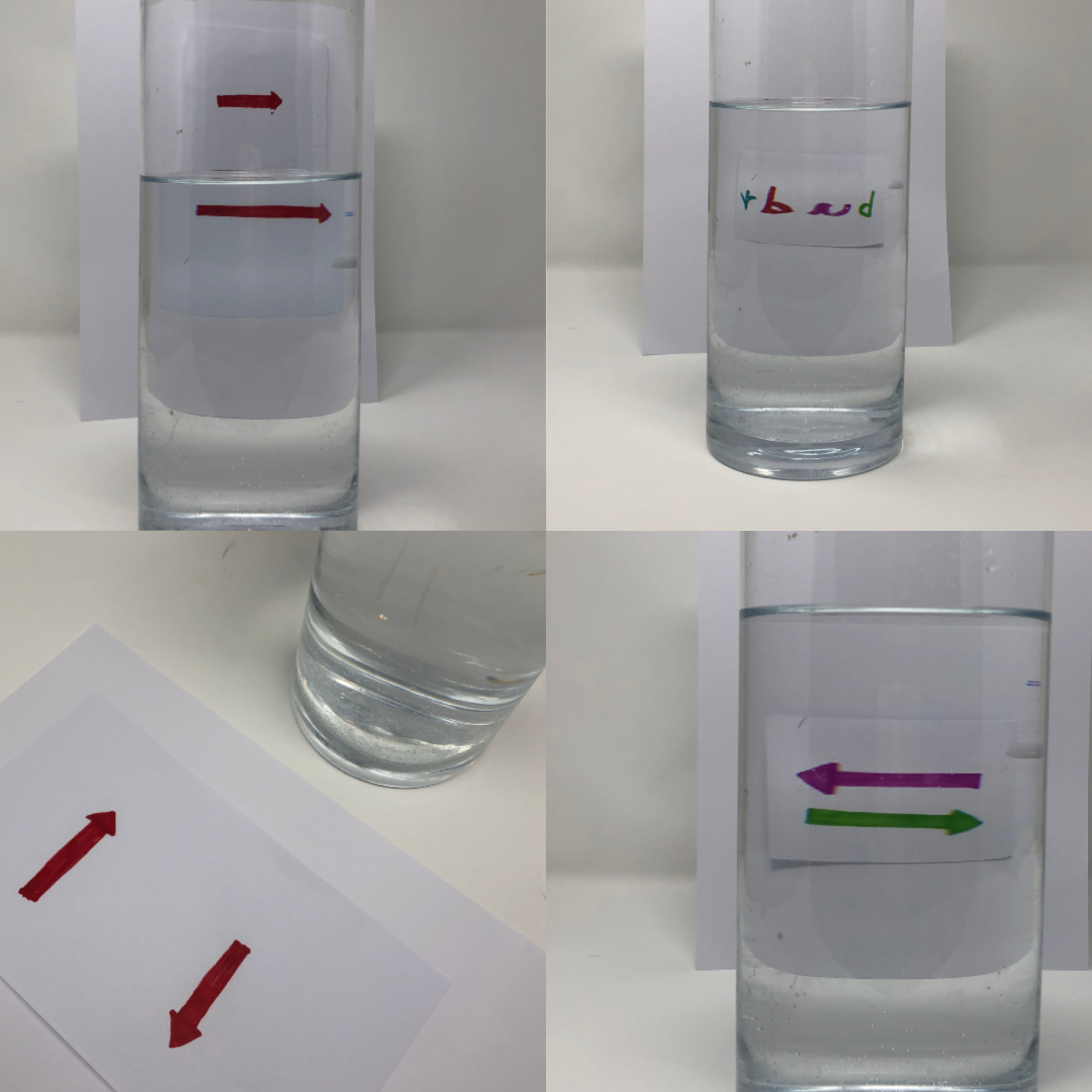 Light Refraction Experiment