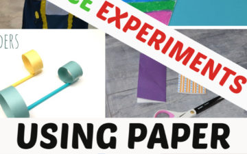 collection of science experiments using paper