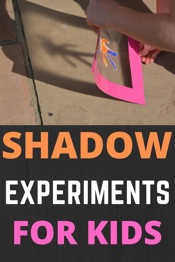 Easy shadow activities and shadow experiments for kids #shadows #springscience #shadowexperiments #shadowsmadeeasy #simplescienceexperiments