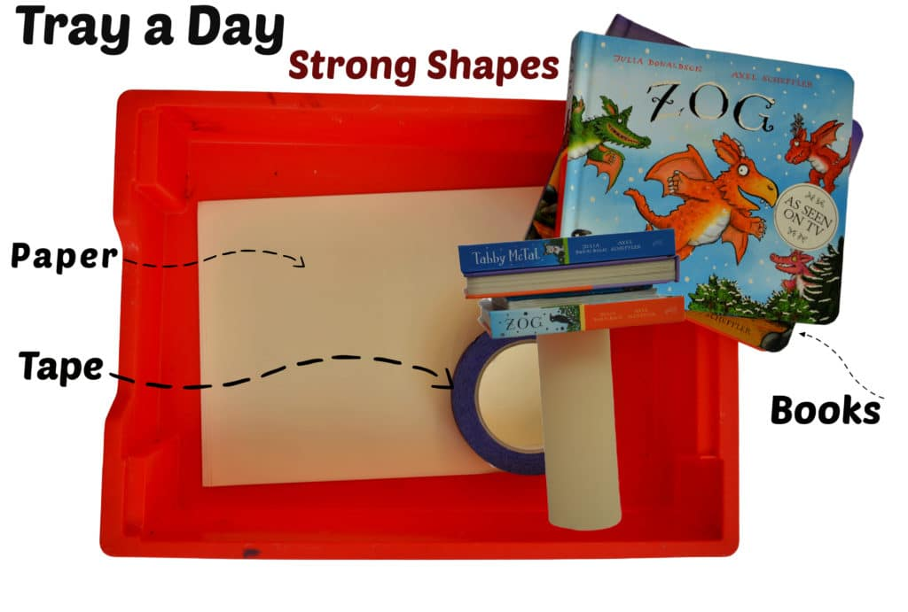 Tray a Day - how strong is paper #scienceforkids