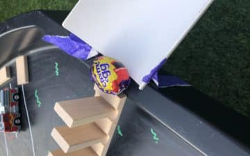 Egg chain reaction for kids