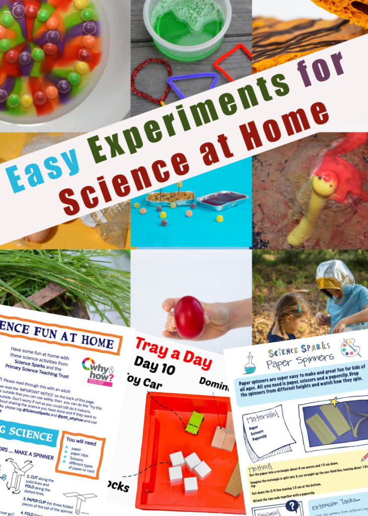 Easy science experiments you can do at home