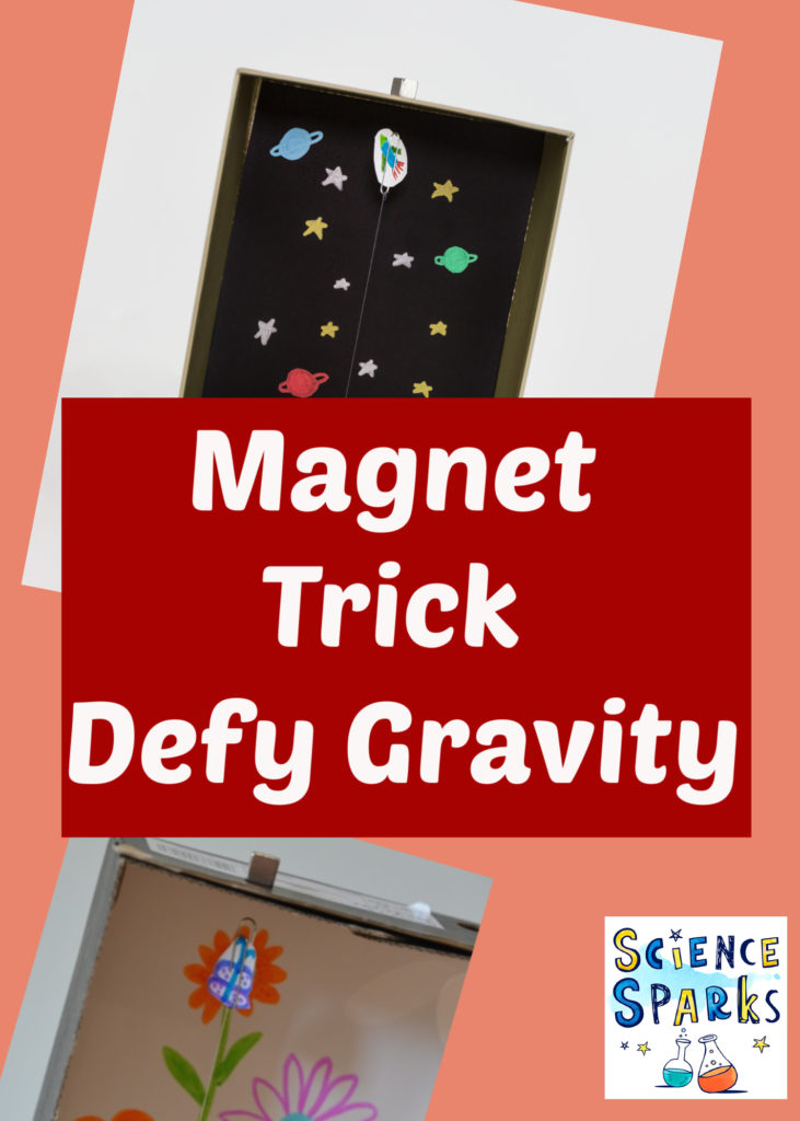 defy gravity with an easy magnet investigation - magnet experiment #scienceforkids #magnetexperiments
