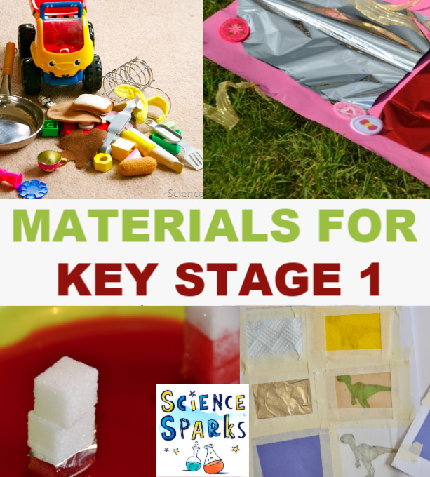 Easy ideas for materials at Key Stage 1  - sort toys, make boats and lots more ideas for learning about materials. #materials #keystage1science