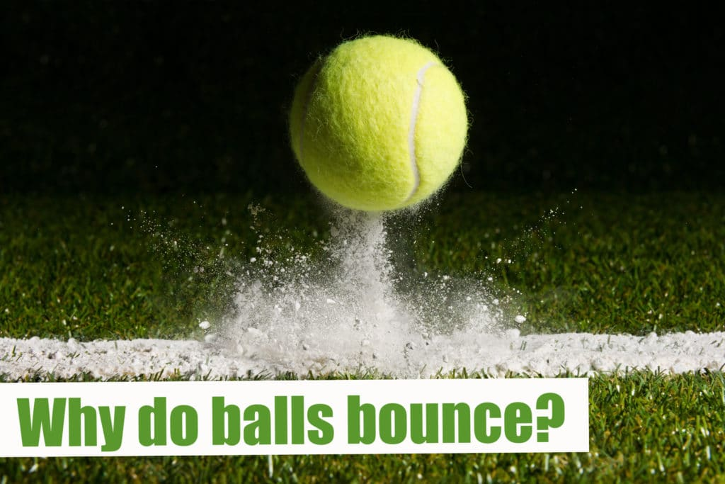 Discover why balls bounce in this easy sport science experiment #scienceforkids #sportyscienceforkids #sportsscience
