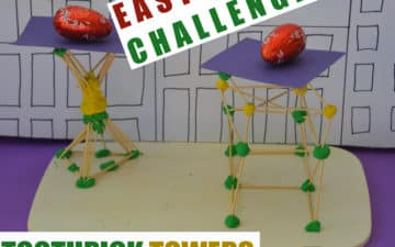 toothpick tower challenge
