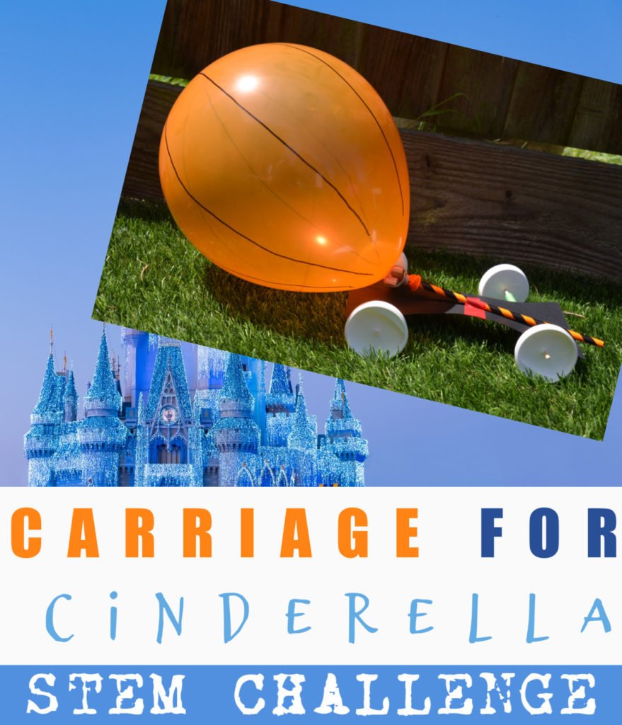 Build a carriage for Cinderella - STEM for kids