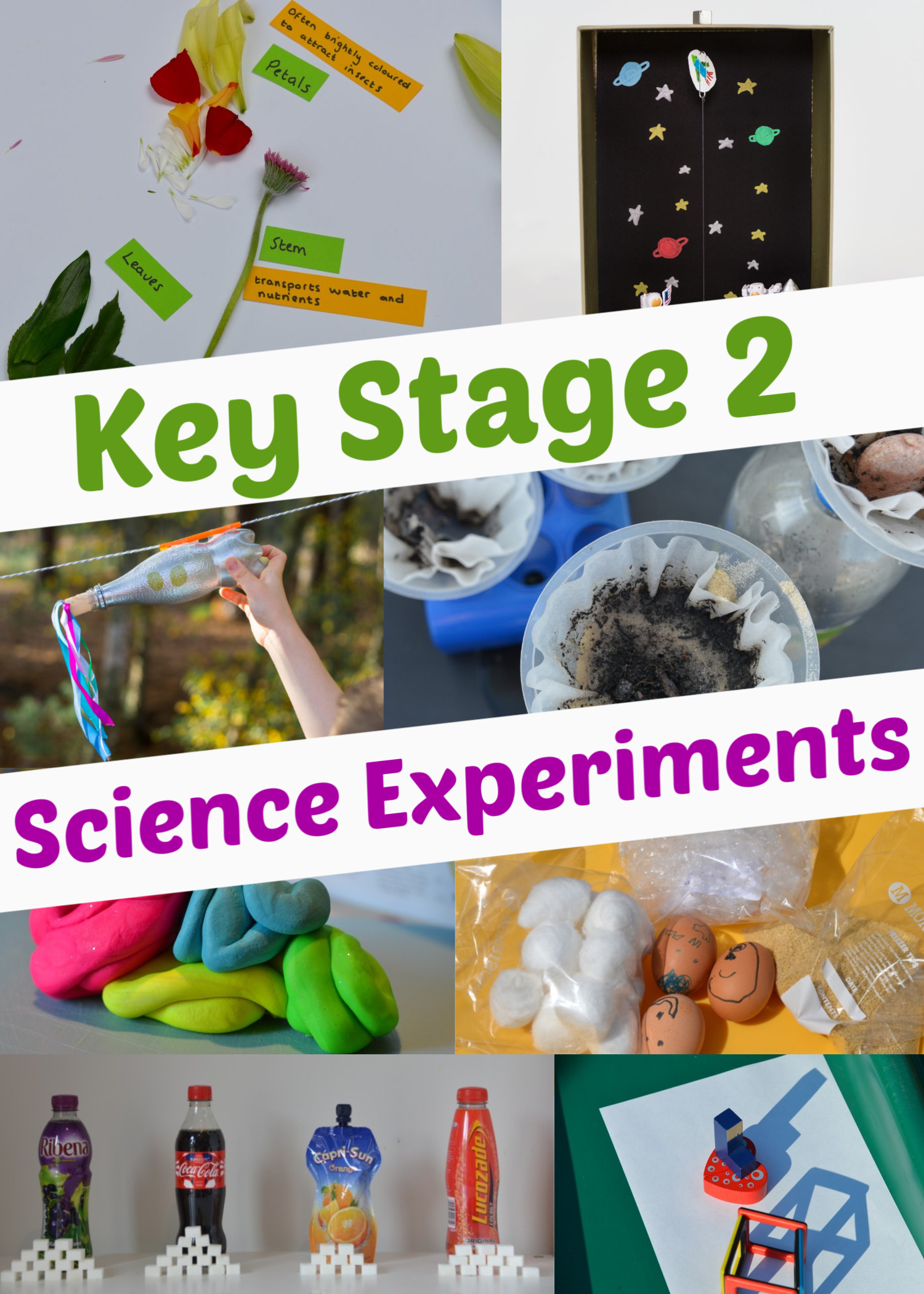 Easy science experiments for Key Stage 2! #KeyStage2Science #scienceforkids