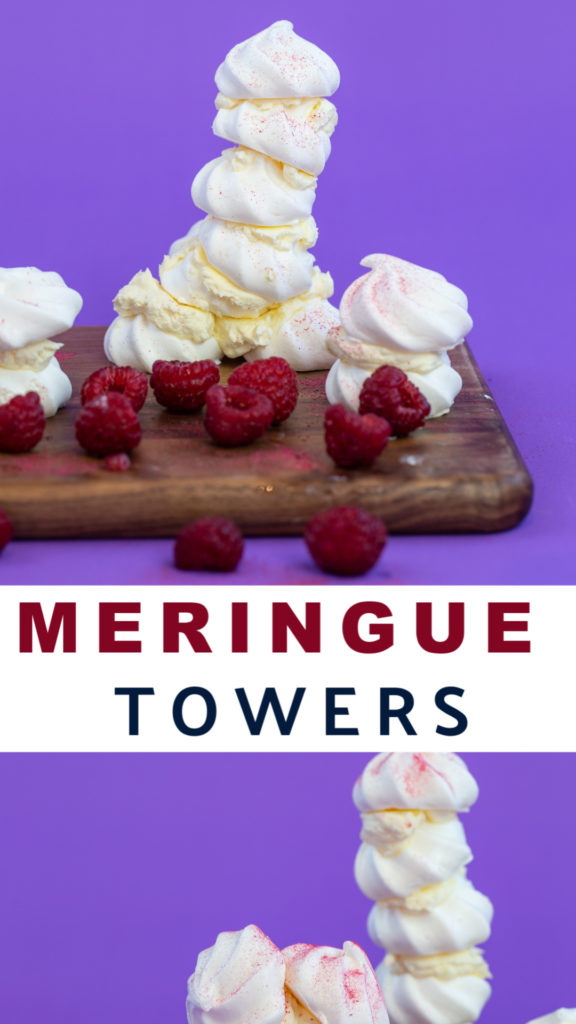 Learn about the science behind making meringue and why you only need egg white with this fun kitchen science experiment for kids #scienceforkids #scienceexperiments