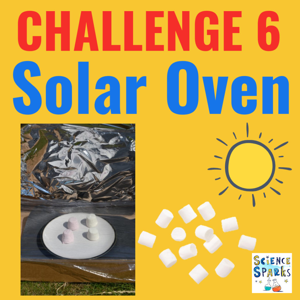 Science challenge - make a solar oven
