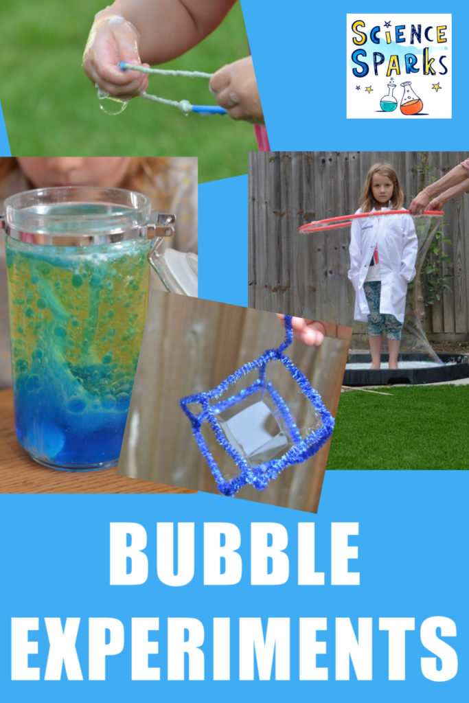 How to make giant bubbles and more bubble experiments. Make your own super strong bubble mix and use a hula hoop to put yourself in a bubble! #bubblemix #giantbubble