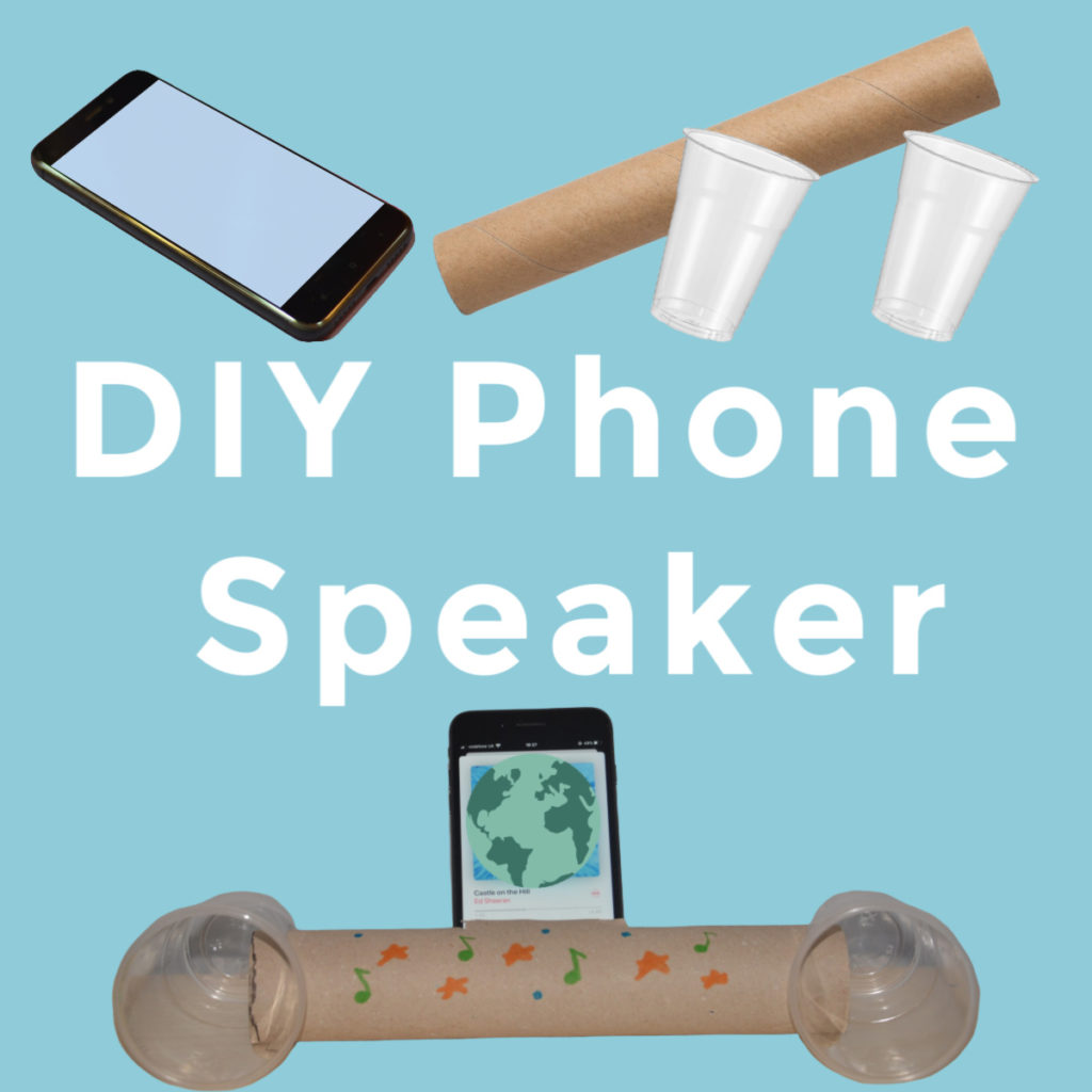 everything you need to make a DIY phone speaker