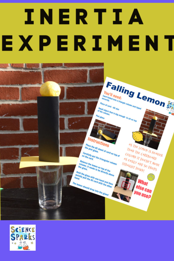 Inertia Experiment instructions