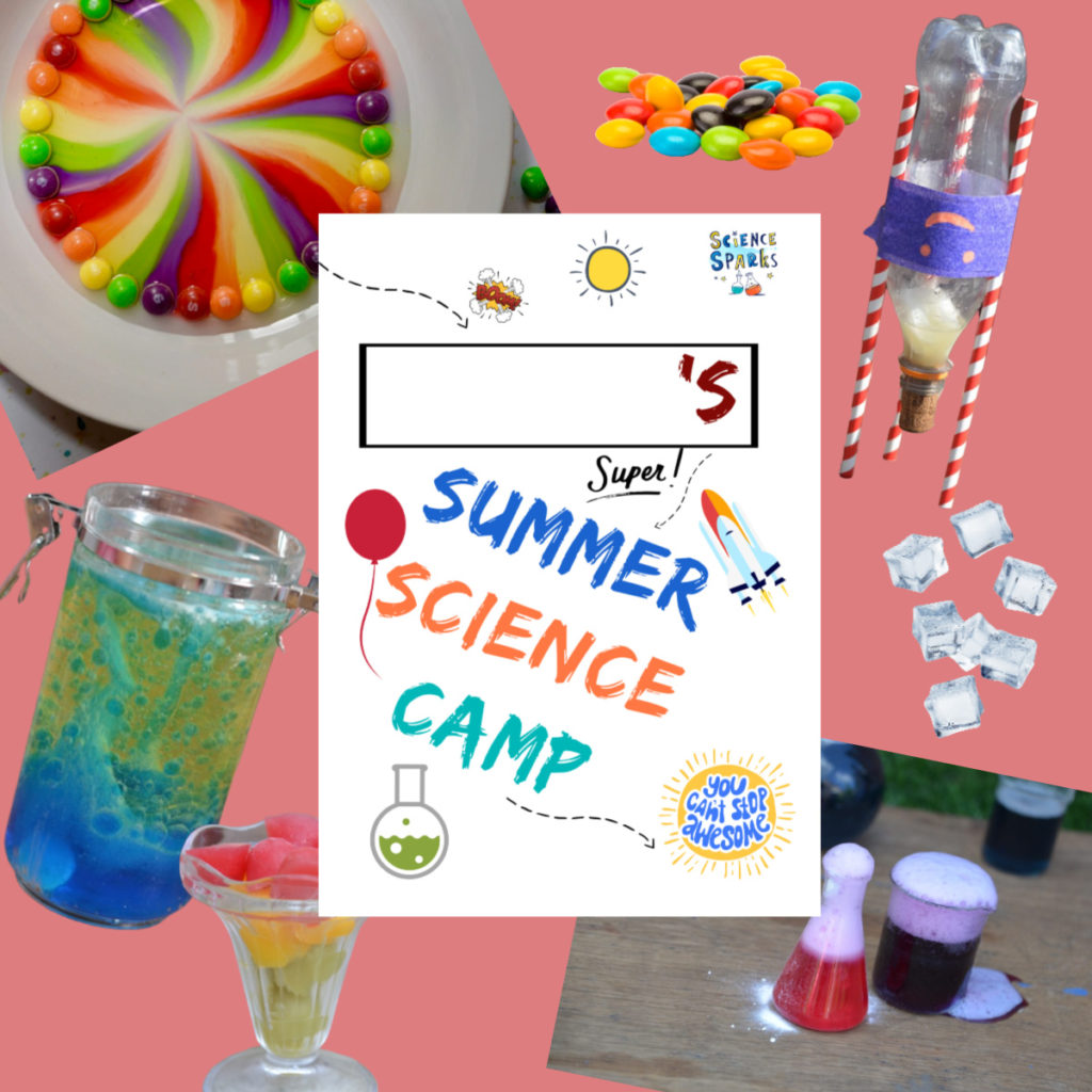 Pick and Mix summer science camp. Choose your activities, print them off...start camp! #sciencecamp #scienceforkids #summerscience #experimentprintables #scienceprintables