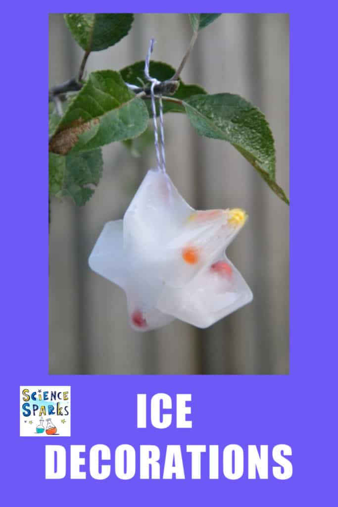 Ice decorations instructions