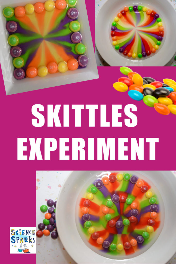 Skittles Experiment - summer camp