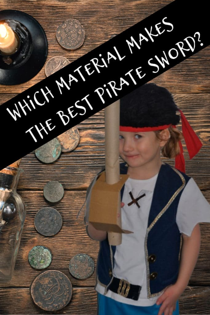 Which material makes the best pirate sword #piratescienceforkids #scienceforkids
