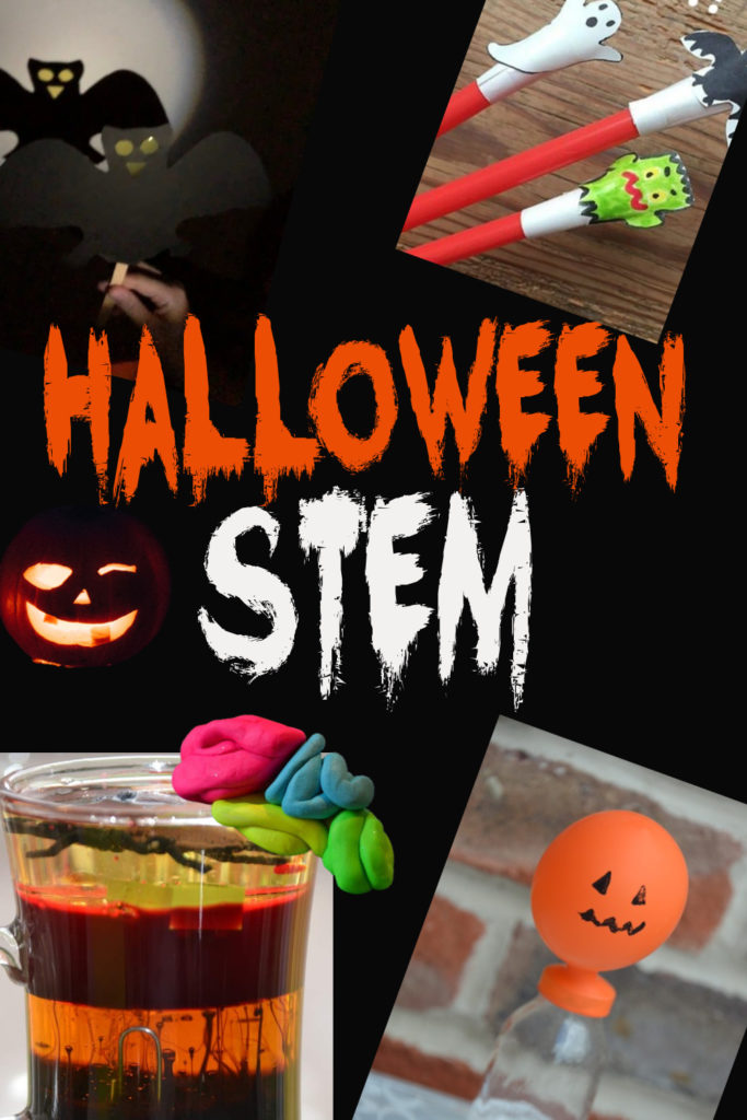 Halloween STEM Challenges for kids - scare yourself silly with these spooky Halloween STEM Challenges #Halloween #STEM