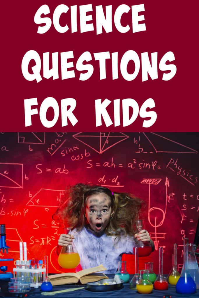 Collection of science questions and answers for kids!  Find out why the sky is blue, why dogs lick, how astronauts sleep and more science questions