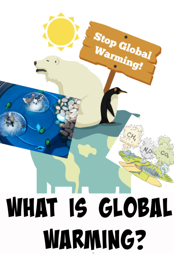 Global warming activities for kids - learn about global warming with these easy hands on science activities. #GlobalWarming #Scienceforkids