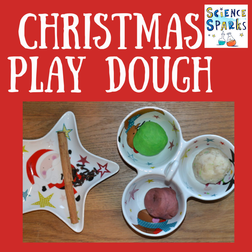 Christmas play dough activity. Match the Christmas spice to the play dough #Christmas #Christmasplaydough #scienceforkids