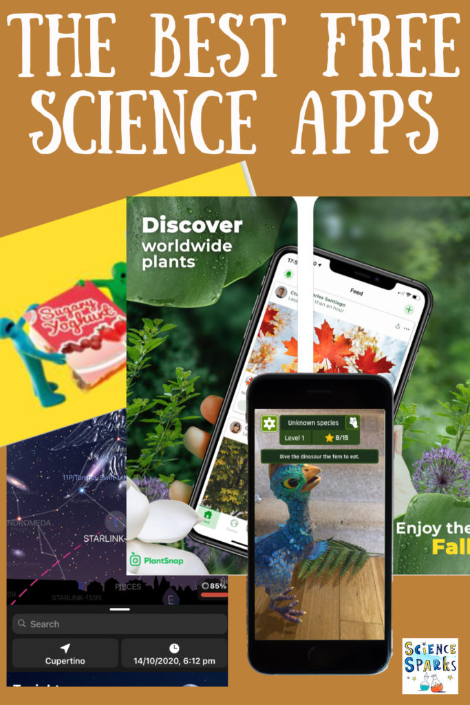 Collection of the best FREE science apps for kids #scienceeducation #scienceapps #scienceforkids