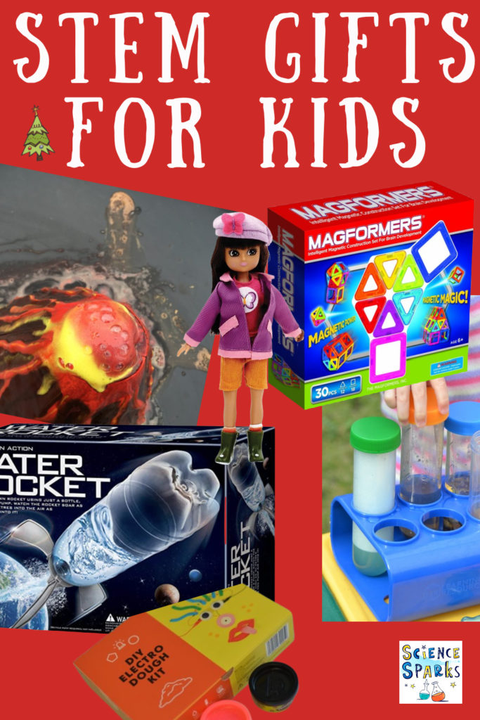 Collection of great STEM gifts for kids ,great for Christmas and birthday presents #scienceforkids #ChristmasGifts #Christmaspresents #STEMgifts #STEM
