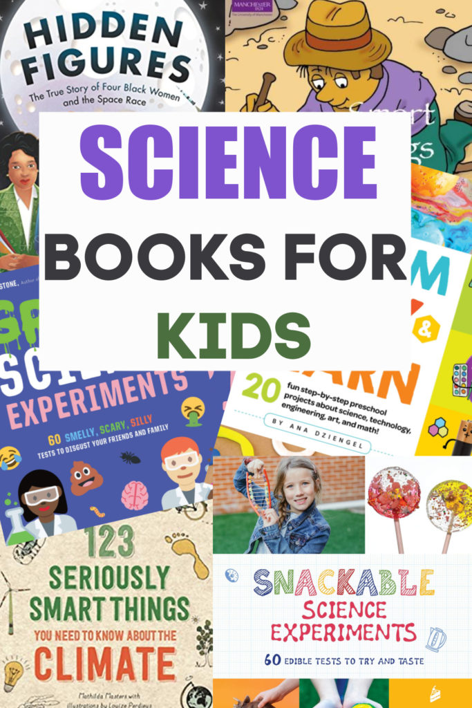 collection of awesome science books for kids #sciencebooks #scienceforkids #books #childrensbooks