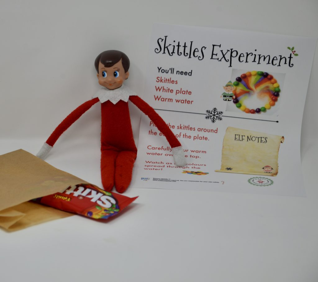Elf on the shelf science experiments
