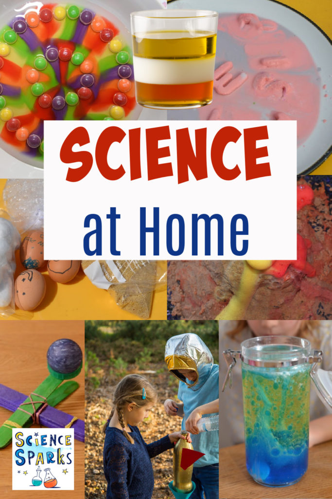 Easy science experiments you can do at home. Massive collection of easy science experiments for home and school. Make a lava lamp, a density jar, egg experiments and lots more awesome science for kids #scienceforkids #coolscience #scienceathome #scienceforhome #scienceforschool