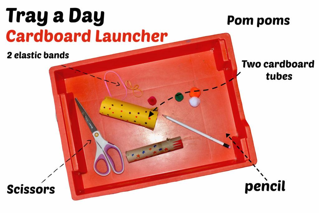 cardboard launcher