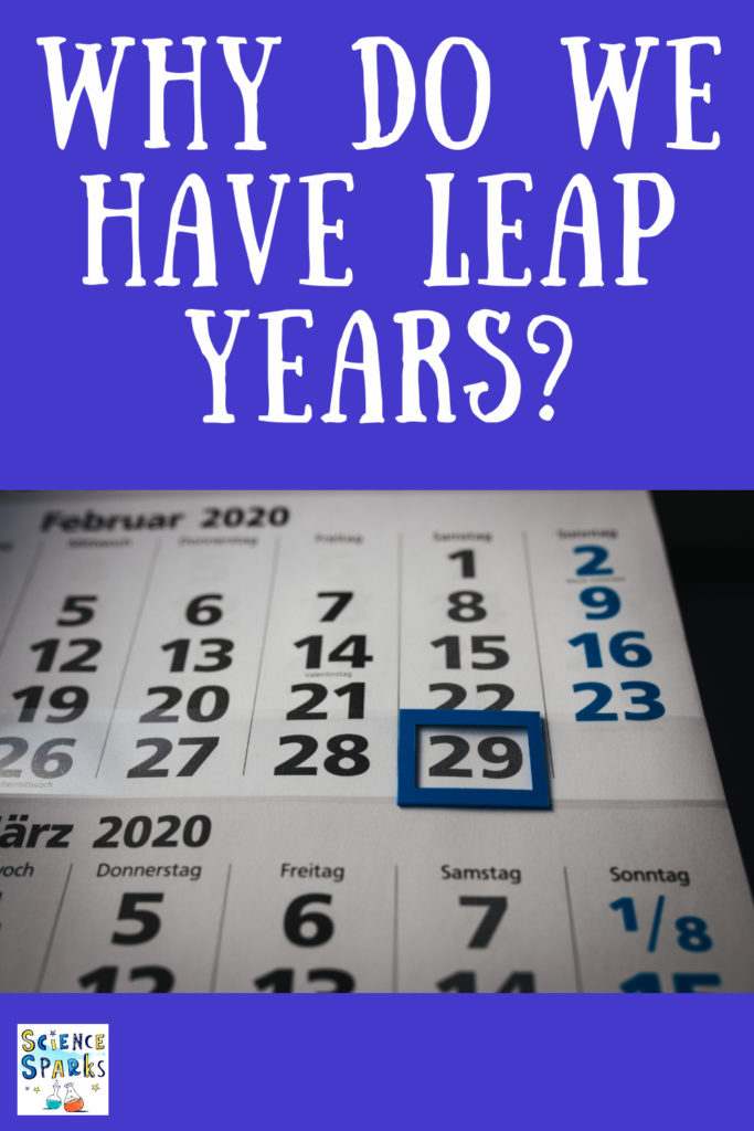 Why do we have leap years? Find out how it's all to do with the Gregorian Calendar and the Earth's rotation around the sun. #time #calendars #leapyear