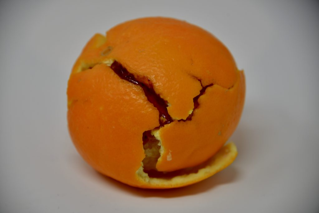 Orange peel plate tectonics