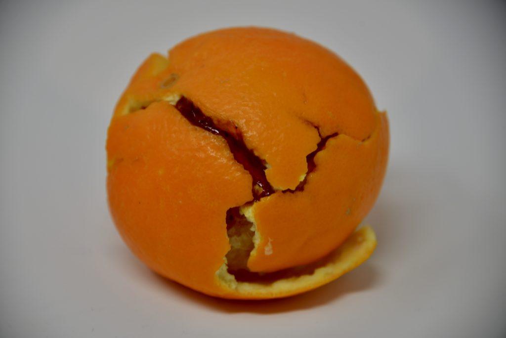 Orange peel plate tectonics