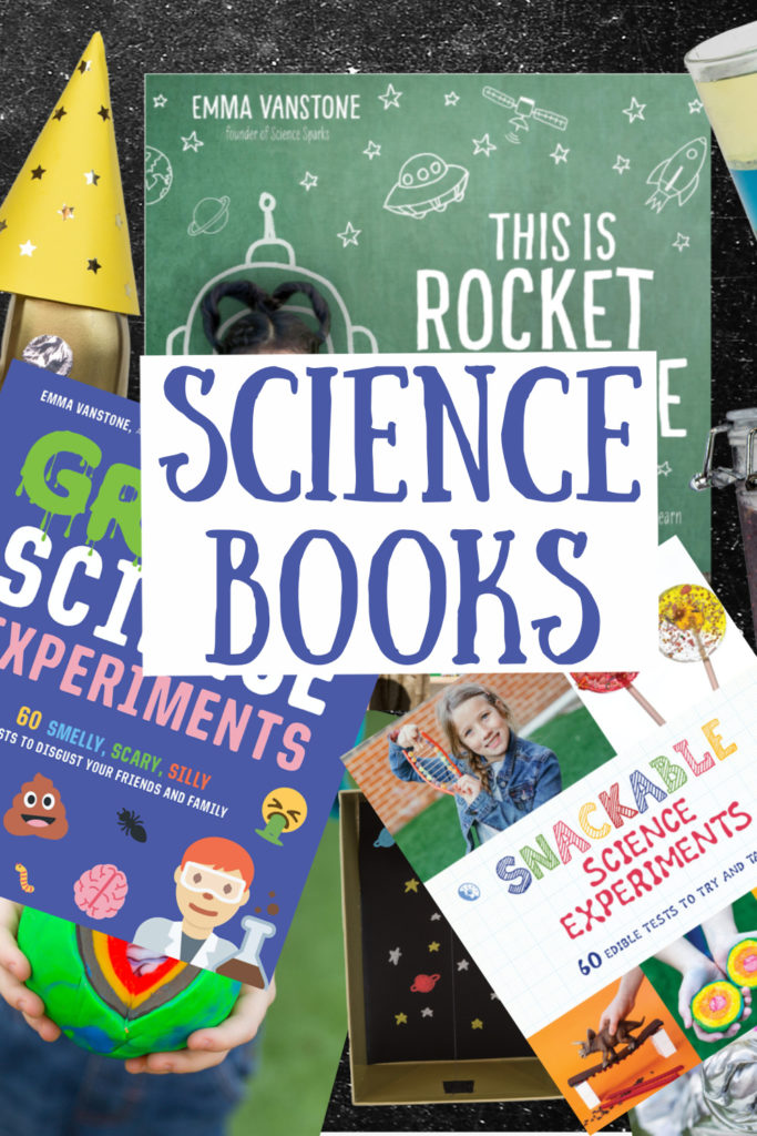 Awesome science books for kids. Find space experiments, kitchen experiments, science investigations about the human body and lots more super science for kids
