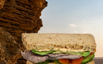 Sedimentary sandwich