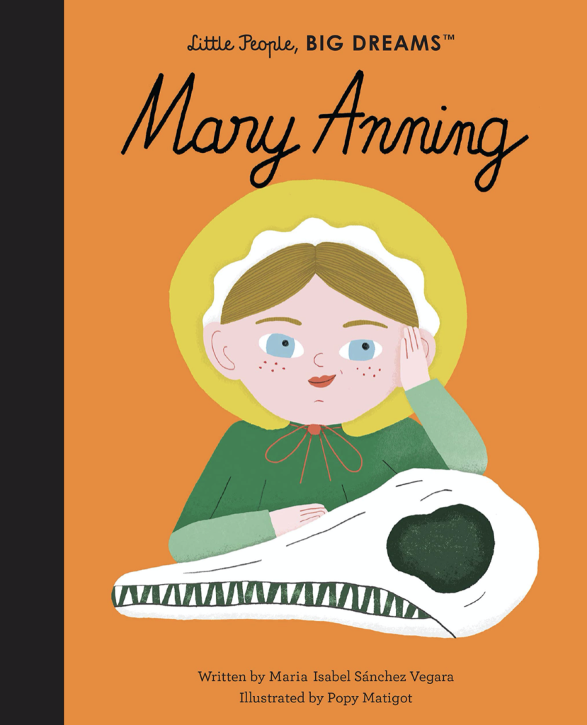 Little People, Big Dreams book - Mary anning
