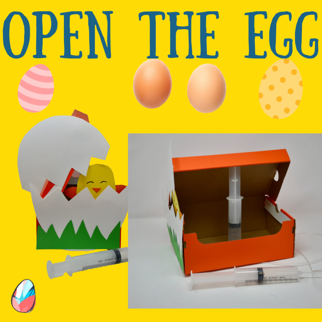 Penumatic egg - EASTER STEM challenge