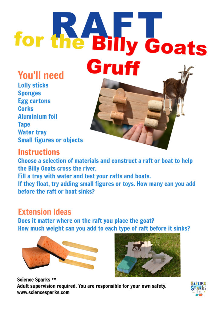 Billy Goats Gruff STEM Challenge