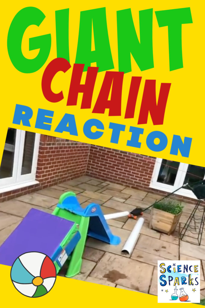 giant outdoor chain reaction